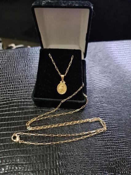 Cartier Masculino Banhado A Ouro 18k, 70cm