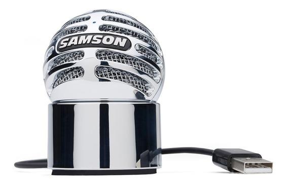 Microfone Samson Meteorite Usb Condensador