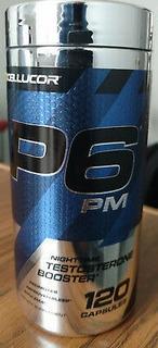 P6 Pm Nighttime Testosterone Booster Cellucor 120 Caps Usa
