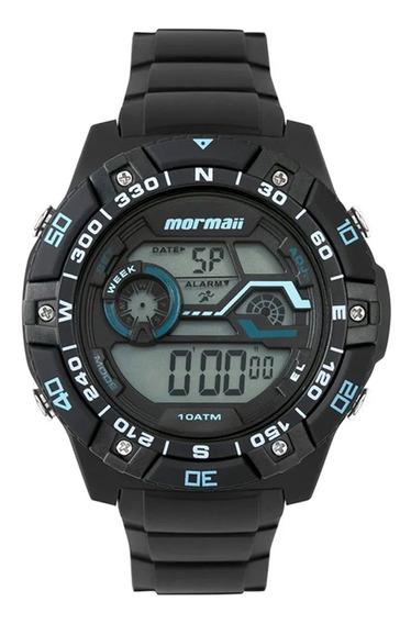 Relógio Mormaii Masculino Mo9030aa/8a Preto - Cor: Preto - T