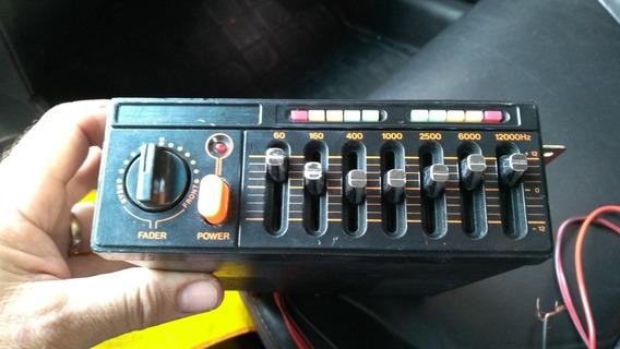 Equalizador Amplificador Tojo Gr100 Funcionando 100%