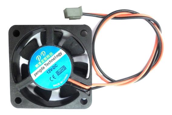 Cooler Pc 4x4 Cm 12v Buje 10mm 2p Para Impresora 3d E9083
