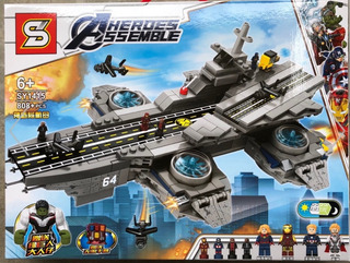 Compatible Lego Avengers The Shield Helicarrier