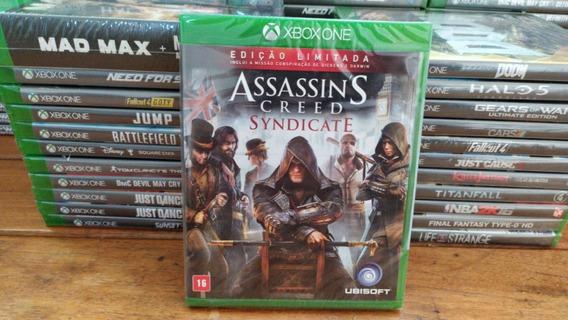 Assassins Creed Syndicate Mídia Física Xbox One Português