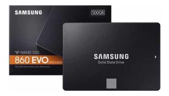 Ssd Samsung 860 Evo 500gb V-nand Sata3 6gb/s 2,5 550mb/s 12x