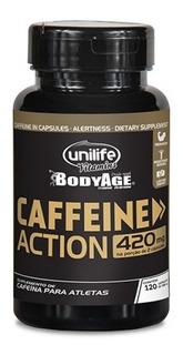 Caffeine Action 420mg Thermo Unilife Cafeína Concentrada