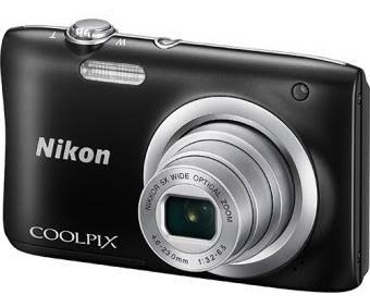 Câmera Fotográfica Nikon A100 + Cartão Sd 16gb De Brinde