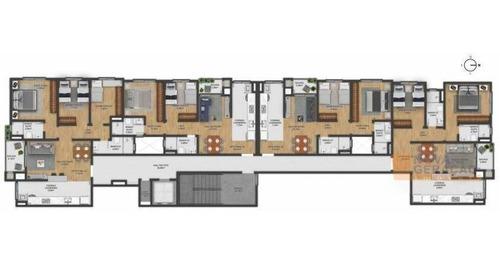 Apartamento Com 2 Dormitórios À Venda, 63 M² Por R$ 287.000,00 - Panazzolo - Caxias Do Sul/rs - Ap0026