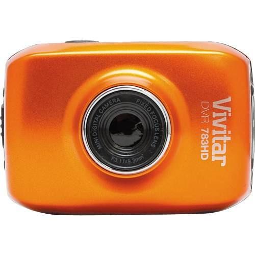 Câmera Filmadora De Ação Vivitar Dvr783hd Prova D