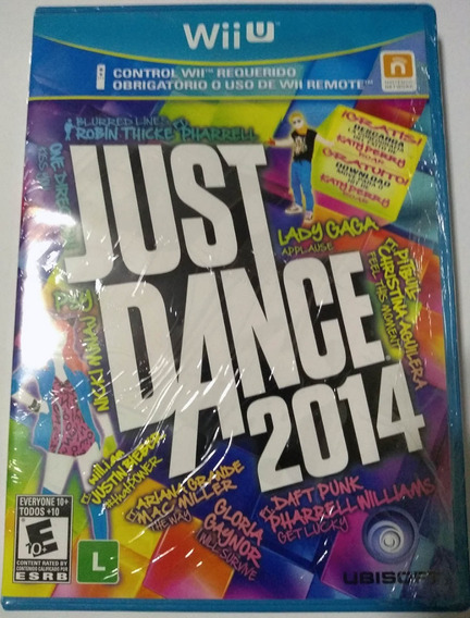Just Dance 2014 Nintendo Wii U Mídia Física Novo Reembalado