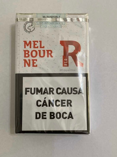 Cigarrillos Melbourne Pack Por 10