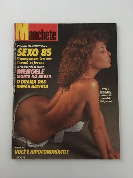 Revista Manchete Kelly Lebrock - 3 Agosto 1985 Nº 1737
