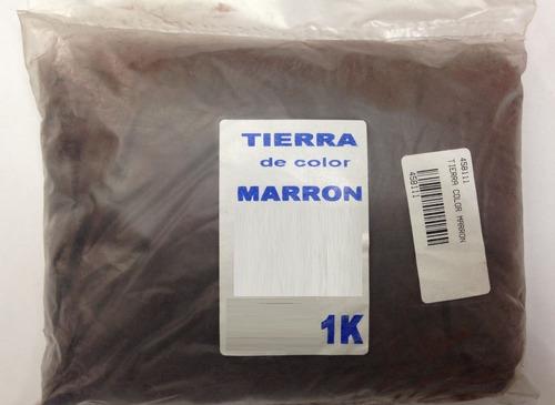 Paquete De Tierra De Color Marrón Para Marcar X Kilo