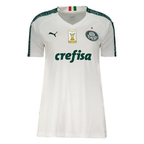Camisa Puma Palmeiras Ii 2019 Feminina Com Patch