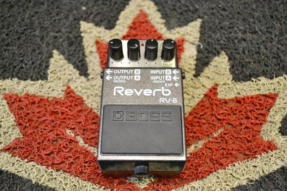Pedal Boss Reverb Rv-6 Ótimo Estado!