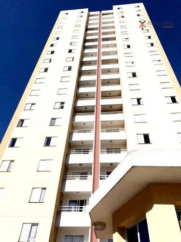 Imagem 1 de 18 de Apartamento Com 2 Dormitórios À Venda, 63 M² Por R$ 290.000,00 - Vila Alto De Santo André - Santo André/sp - Ap2830
