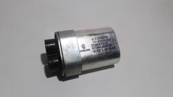 Capacitor Alta Tensión Para Microondas 0.91 Uf X 2000 V