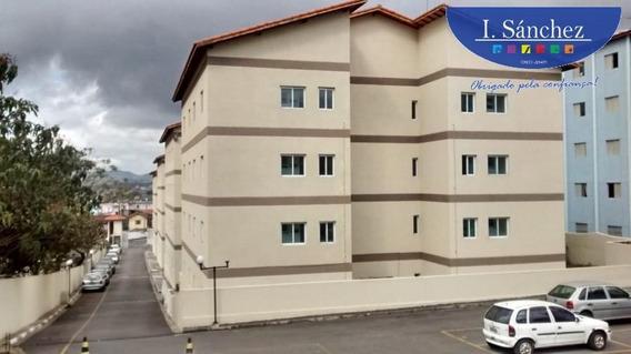 Apartamento Para Venda Em Itaquaquecetuba, Vila Miranda, 2 Dormitórios, 1 Banheiro, 1 Vaga - 190830a