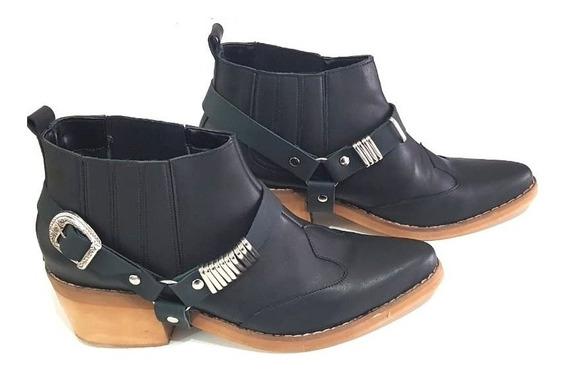 Botas Texanas Mujer 41 42 43 44 Zinderella Shoes Art 200