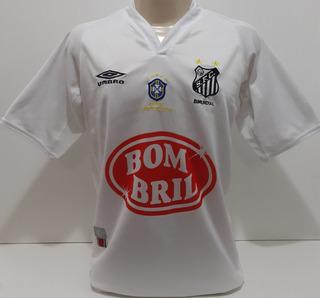 Camisa Santos Umbro 2003 Escudo Campeão Brasileiro 2002 - Kp