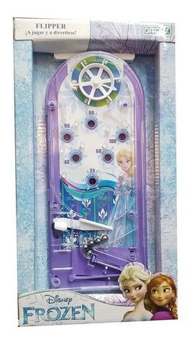 Juego De Mesa Flipper Chico Frozen Original St Disney