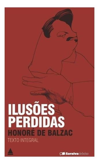 Livro De Bolso Ilusões Perdidas Por Honoré De Balzac Romance