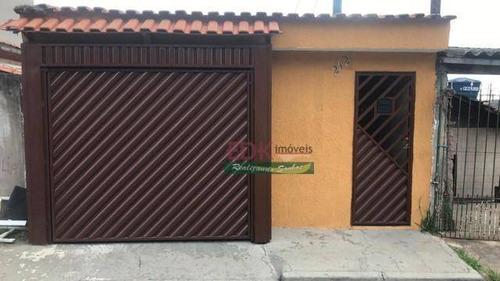 Imagem 1 de 18 de Casa Com 4 Dormitórios À Venda, 280 M² Por R$ 371.000 - Jardim Do Estádio - Santo André/sp - Ca6118