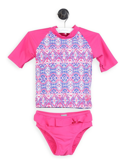 Tankini Playa Fucsia Girl Colloky