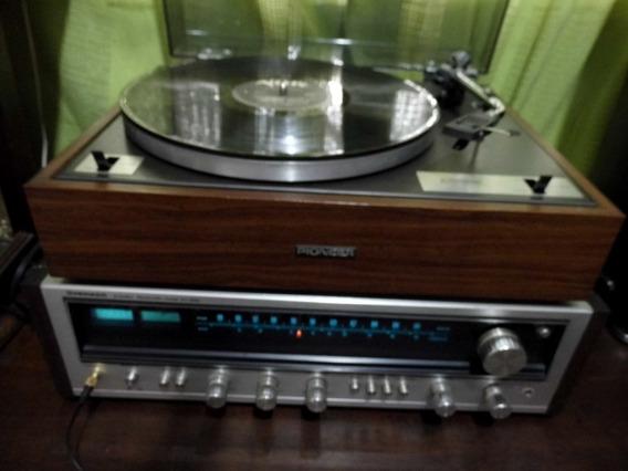 Toca Disco Pioneer Pl-12r Ano 1975 Na Caixa(para Retirar).