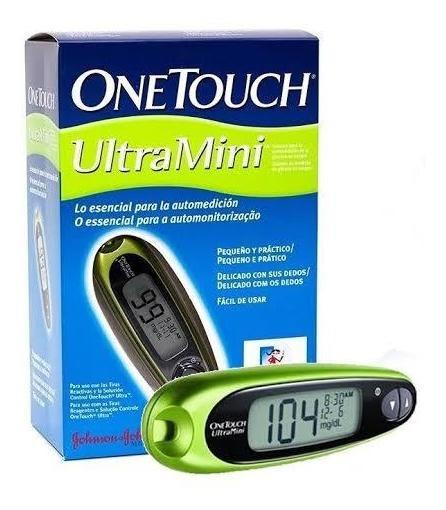 Medidor De Glucosa Azucar Diabetes One Touch Glucómetro