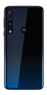 Celular Motorola One Macro 64gb Azul Mediatek Celular Mk424