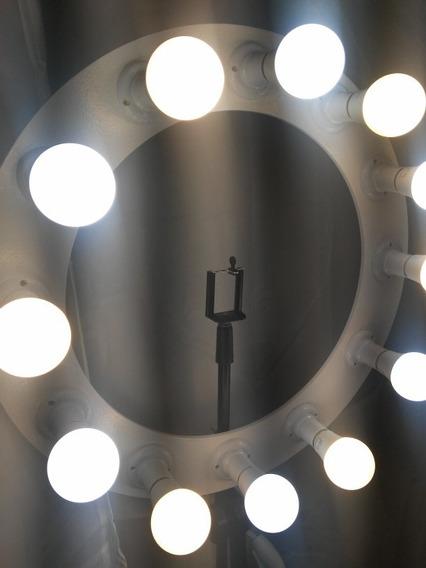 Ring Light 12 Lâmpadas 7w Frias/quentes Bivolt 108w Potencia