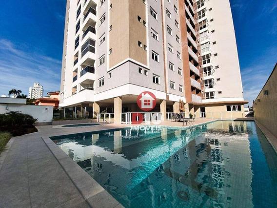 Apartamento Residencial À Venda, Michel, Criciúma. - Ap1311