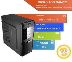 Computador Tob Gamer Com Intel Core I7 7700 8gb De Memória