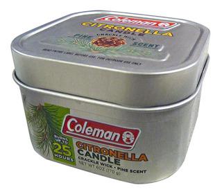 Coleman Vela Citronela 25h Mecha Madera Set 2 Envío Inmediat