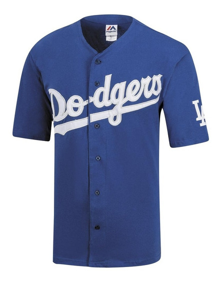 Playera Manga Corta Dodgers Hombre Majestic Rey 53031