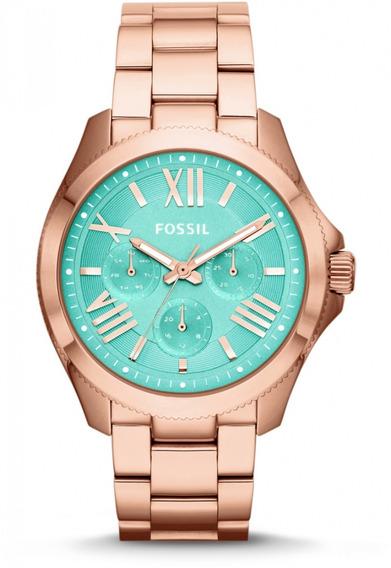 Reloj Fossil Am4540 Para Mujer Ext De Acero