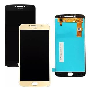 Frontal Tela Display Touch Moto E4 Plus Xt1770 Xt1773 + Cola