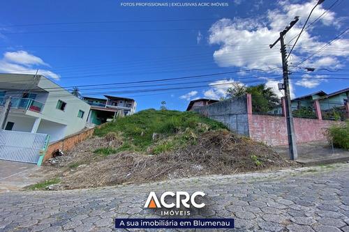 Acrc Imóveis - Terreno Residencial Com 518m² De Área Total Para Venda No Bairro Velha - Te00645 - 69431284