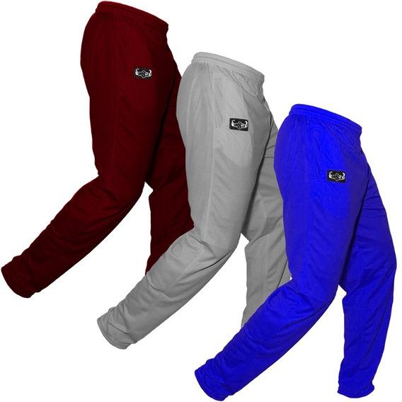 Pantalon P/gimnasio Hombre 3 Unidades Surtidas (dry Cool)