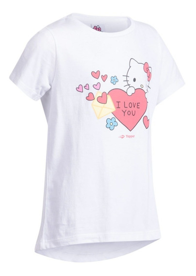 Remera Topper Hello Kitty T-shirt Smart Casual Nena