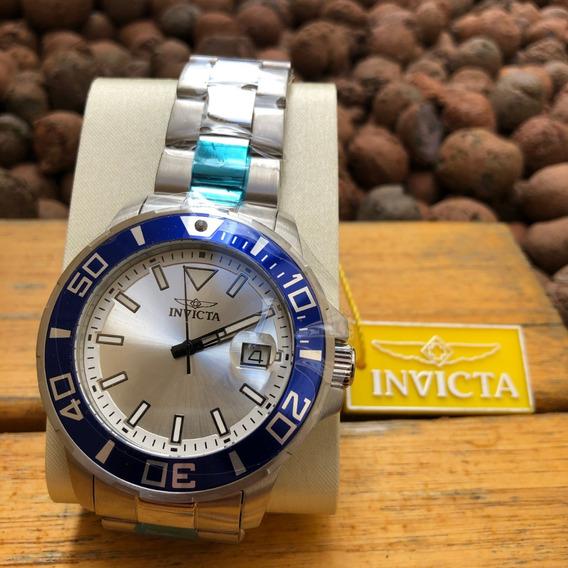 Invicta | Relógio Pro Diver 26972 Original Aço Prata Azul