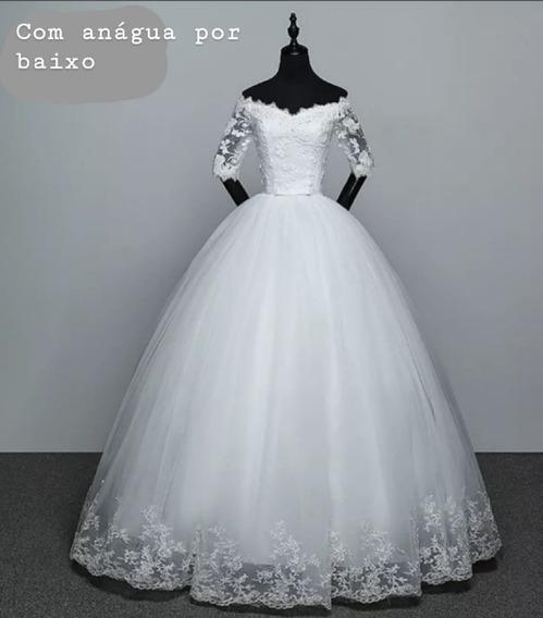 Vestido De Noiva Casamento Sonho De Princesa