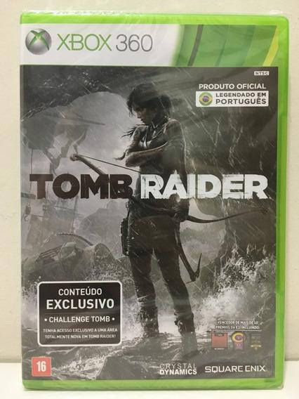 Tomb Raider 2013 Xbox 360 X360 Novo Lacrado