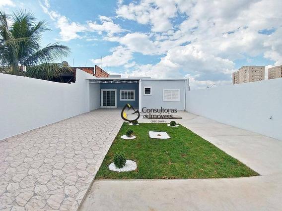 Casa Residencial À Venda, Parque Dos Servidores, Paulínia - Ca0728. - Ca0728