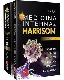 Livro Medicina Interna De Harrison 19ª Edição Livros 1 E 2