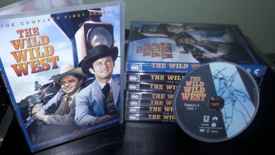 Dvd James West - Série Completa ( 32 Dvds )