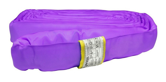Eslinga Redonda Sin-fin Color Violeta, Largo 3 M Er13 Urrea