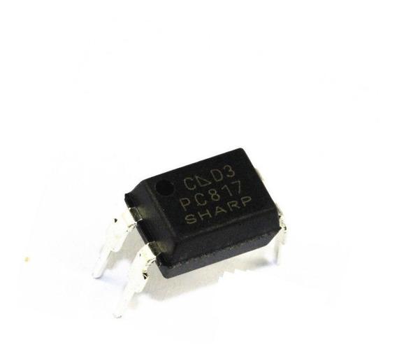 Pc 817 Pc-817 Pc817 Optoacoplador 5 Kv Dip4 Pack X 5