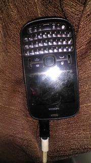 Celular Nokia Asha 200 Preto Funcionando- Para Colecionadore